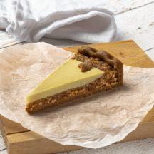 Vegán almás-vaníliás pite 12 szeletes -kb1,2 kg